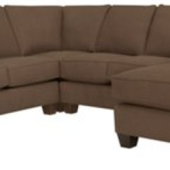 Dark Brown Sectional Sofa Chaise Foam Seat Cushion For York Fabric Medium Right