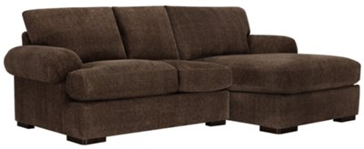dark brown sectional sofa chaise suede bed belair fabric right