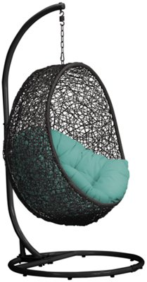 Teal Chair City Furniture Grate Dk Teal Hanging Chair