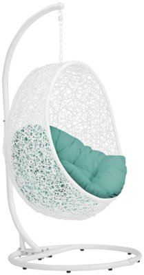 Kids Hanging Chair Orchid Dark Teal Hanging Chair