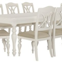 White Table Chairs Chair Swing Hammock Dining Room Sets City Furniture Quinn 4 Wood
