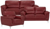 Red Microfiber Sofa 15 Inspirations Of Red Microfiber ...
