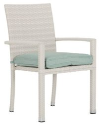 City Furniture: Bahia Teal Arm Chair
