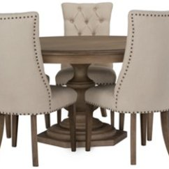 Accent Chairs For Dining Room Table Heywood Wakefield Chair City Furniture Haddie Light Tone Round And 4