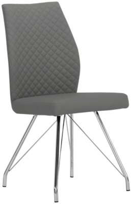 grey upholstered chair portable fabric high city furniture lima gray side