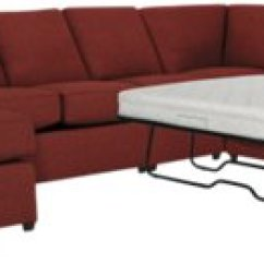 Red Sectional Sofa Chaise 3 Seater Under 10000 Asheville Fabric Left Innerspring Sleeper
