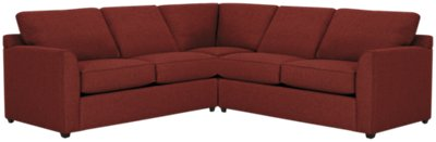 right arm sleeper sofa 5 in 1 bed naaptol asheville red fabric two left innerspring