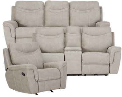 boardwalk sofa review novara black lounger with storage ottoman city furniture pewter microfiber reclining