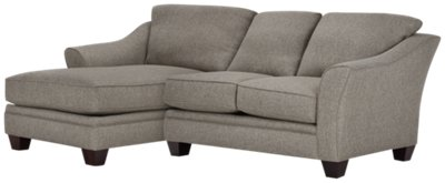 dark grey sectional sofa with chaise cheap sofas uk gumtree city furniture avery gray fabric left
