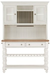 City Furniture: Savannah Ivory China Cabinet