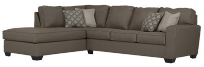 beige microfiber sectional sofa with storage chaise pottery barn york reviews calicho dark taupe left