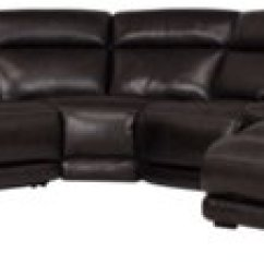 Dark Brown Sectional Sofa Chaise Lazy Boy Sofas Wayfair City Furniture Gable Leather Right