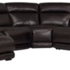 Dark Brown Sectional Sofa Chaise Sofas In Dallas Texas Gable Leather Left Power Reclining