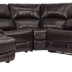 Dark Brown Sectional Sofa Chaise Selber Bauen Polster Memphis Leather And Vinyl Left Power