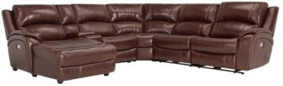 brown leather sectional sofa with chaise comfortable bed brisbane memphis medium and vinyl left power