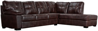 dark brown microfiber sofa leather cleaning sunderland henry right bumper sectional