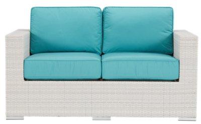 dark teal sofa brown leather electric recliner city furniture biscayne loveseat