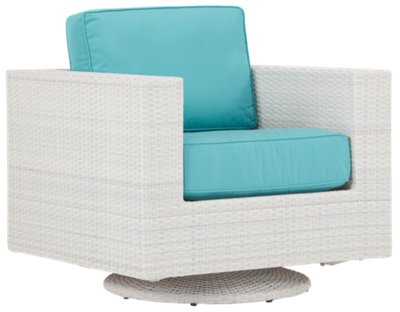 dark teal chair best toddler and table city furniture biscayne swivel