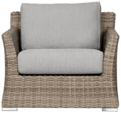 Raleigh Gray Woven Chair  Outdoor  Chairs  City Furniture