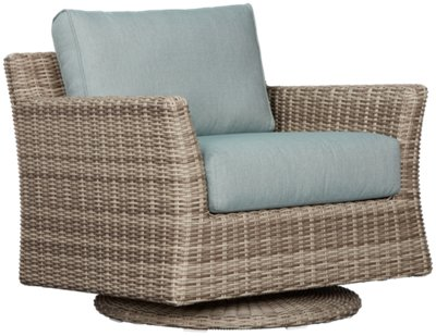 Raleigh Teal Woven Chair