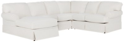white fabric sectional sofa with chaise dfs finance bad credit turner medium left
