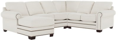 white fabric sectional sofa with chaise western leather sofas city furniture foster medium left