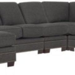 Dark Brown Sectional Sofa Chaise 8 Foot Long Table City Furniture Foster Fabric Large Left