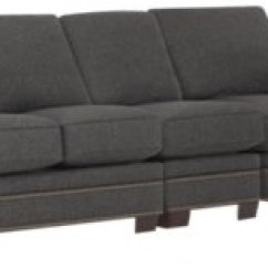 Dark Brown Sectional Sofa Chaise Sofasworld Corner City Furniture Foster Fabric Small Right