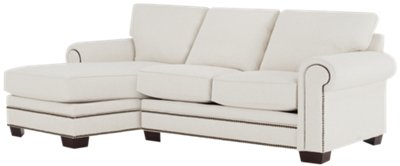 white fabric sectional sofa with chaise billige online bestellen foster left