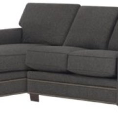 Dark Brown Sectional Sofa Chaise Tesco Florence Review City Furniture Foster Fabric Small Left