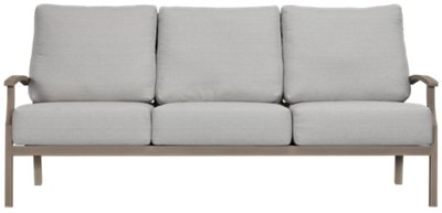 raleigh sofa knock off charcoal gray sectional aluminum