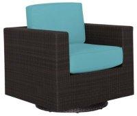 City Furniture: Fina Dark Teal Swivel Chair