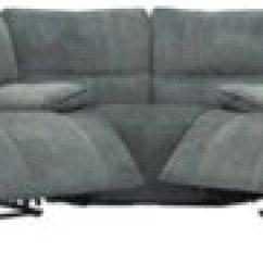 Gray Microfiber Power Reclining Sofa Curved Sectional Ashley City Furniture Jesse Dark