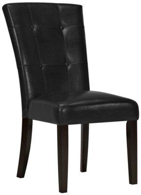 black side chair universal fishing rod rest monark upholstered
