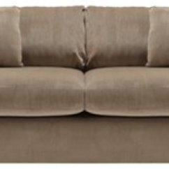 Microfiber Sofas Western Style Tara2 Dark Taupe Sofa