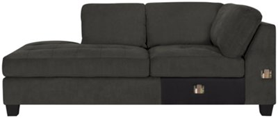 marco gray chaise sofa beds peterborough uk grey thesofa