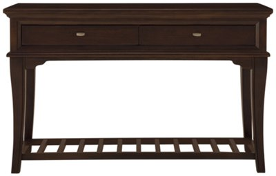 dark sofa tables chemise living divani cherry table with storage drawers