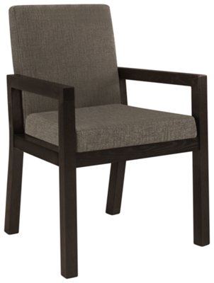gray upholstered dining chairs best gaming chair for big guys reddit city furniture tocara dk arm