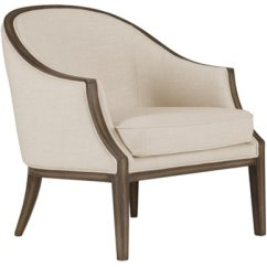 Beige Accent Chairs Resin Wicker Kensie Fabric Chair