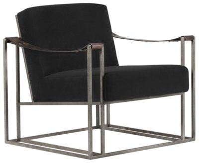 Black Accent Chairs Dekker Black Fabric Accent Chair