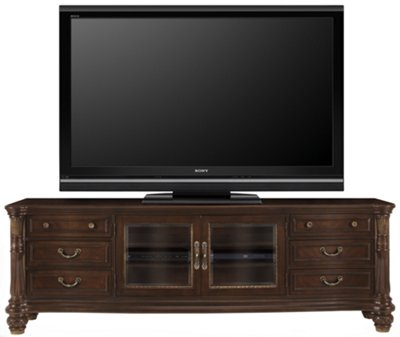 City Furniture Tradewinds Dark Tone Entertainment Wall