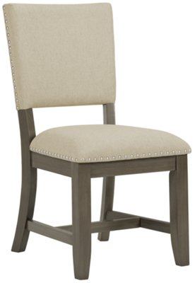 gray side chair white leather chairs city furniture omaha upholstered