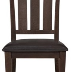 Dark Wood Dining Room Chairs Wheelchair Zone Stories City Furniture Kona Grove Tone Side Chair