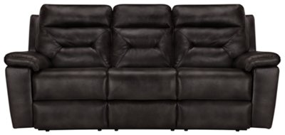 sofa sleeper phoenix back pain after sleeping on city furniture dk gray microfiber reclining