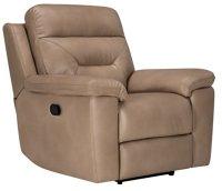 City Furniture: Phoenix Dk Beige Microfiber Manually ...
