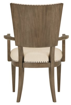 preston chair accessories henry miller gray wood upholstered arm