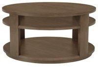 City Furniture: Preston Gray Round Coffee Table