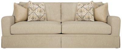 tan fabric sofa connection savannah ga beige desta pillow top sectional