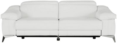 white leather sectional sofa with recliner room and board bed reclining outstanding terrific