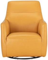 Yellow Leather Chair - Home Ideas